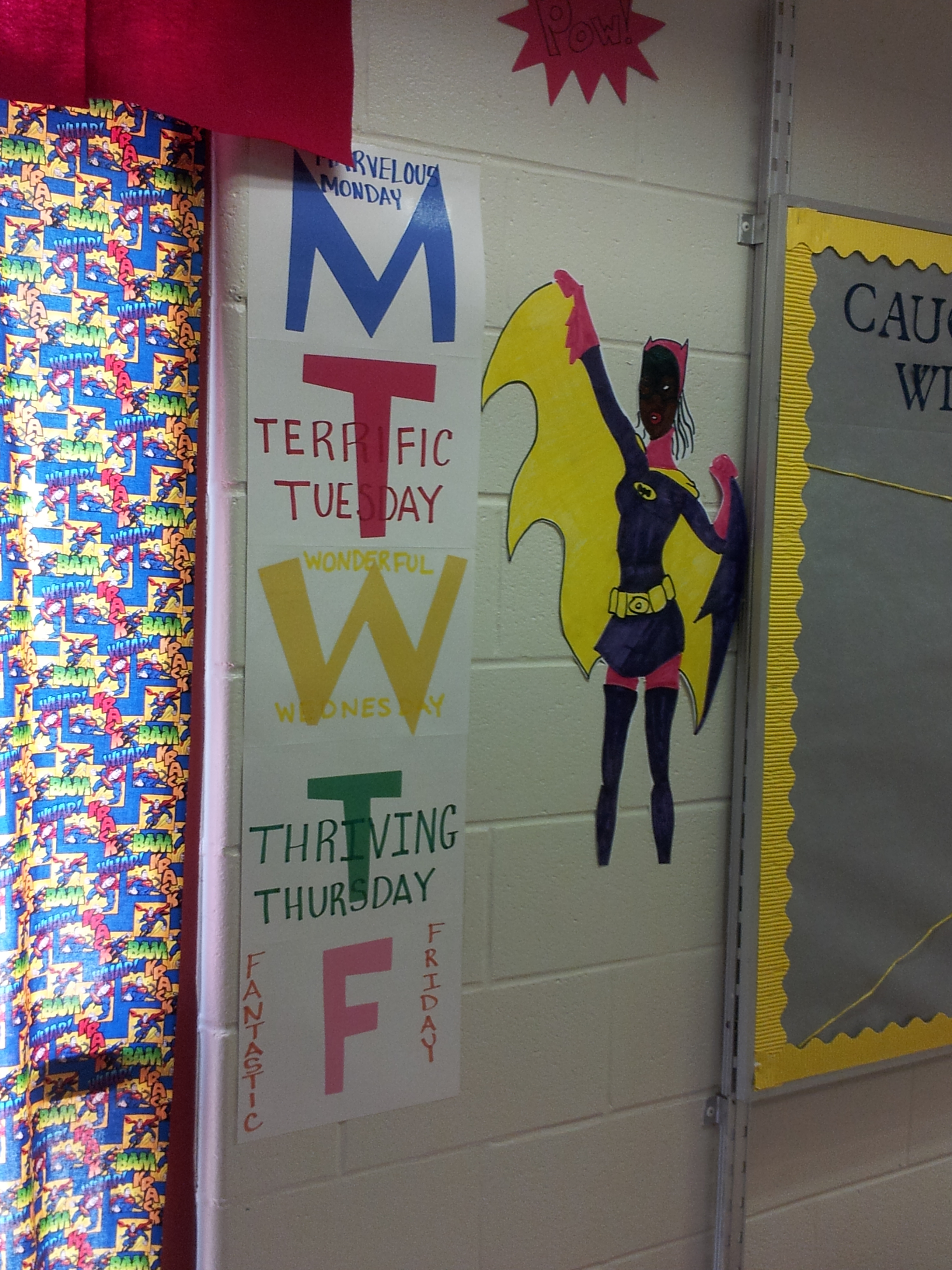 Superhero Classroom Decoration Ideas ~ Superhero themed class the bow tie teacher